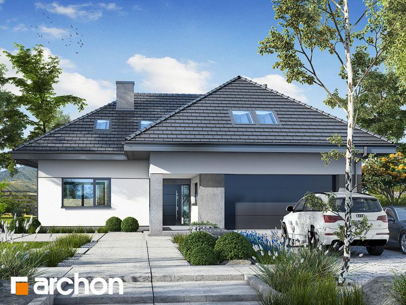 gotowy projekt Dom w maciejkach 3 (G2) widok 1