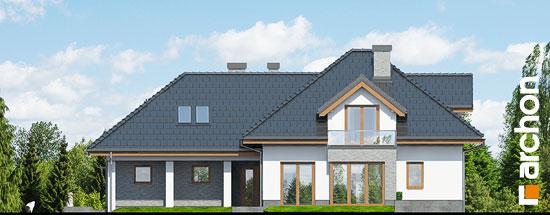 Elewacja boczna projekt dom w sanwitaliach  265