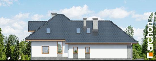 Elewacja boczna projekt dom w sanwitaliach  266