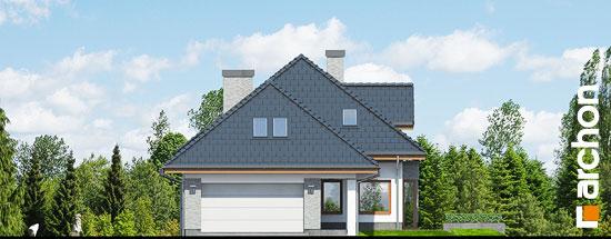 Elewacja frontowa projekt dom w sanwitaliach  264