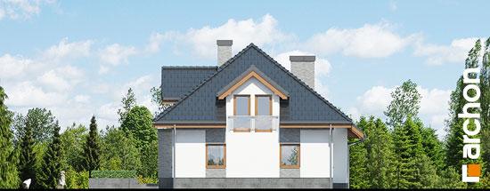 Elewacja ogrodowa projekt dom w sanwitaliach  267