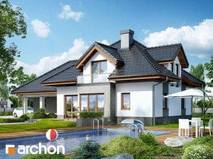 projekt Dom w sanwitaliach widok 2