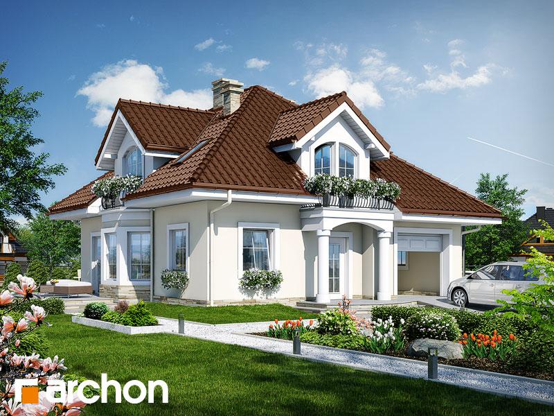 projekt Dom w tymianku 6 widok 1