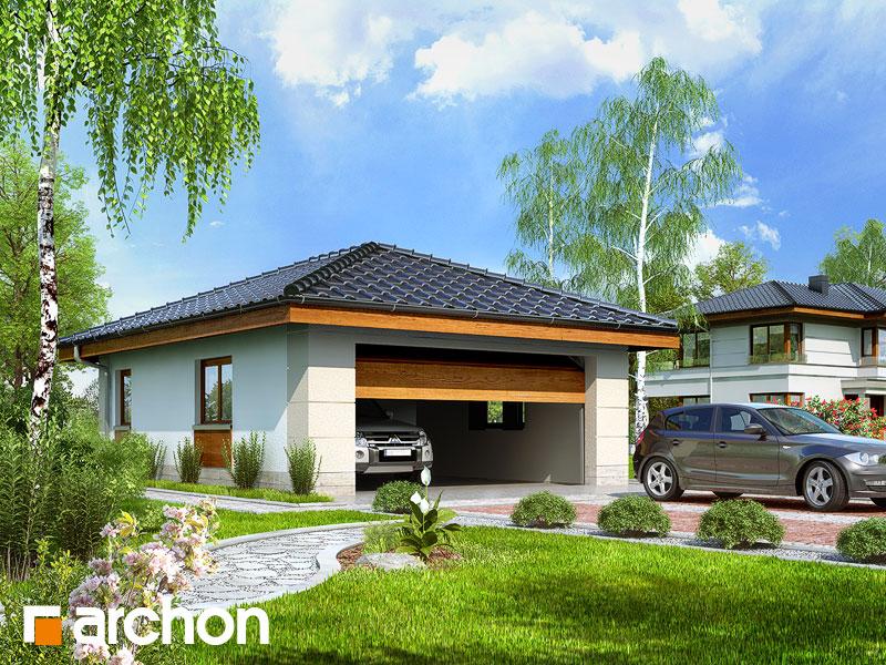 Projekt Garażu Garaż 2 Stanowiskowy G18 Archon