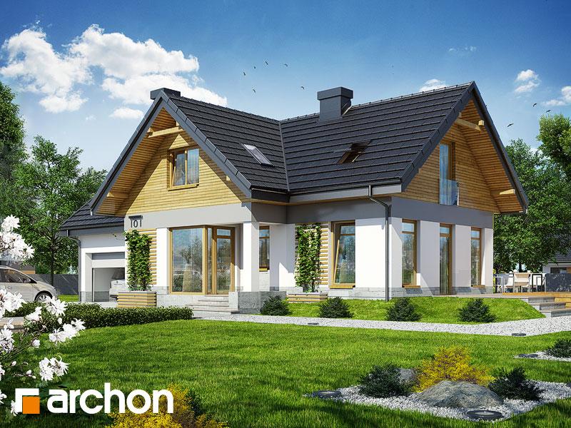 gotowy projekt Dom w pomelo widok 1
