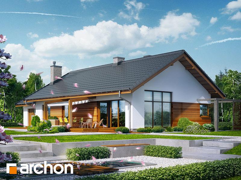 gotowy projekt Dom w mekintoszach widok 2