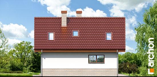 Elewacja boczna projekt dom w mango 2  266