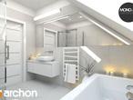 projekt Dom w mango 2 Wizualizacja łazienki (wizualizacja 4 widok 4)