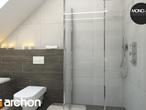 projekt Dom w mango 2 Wizualizacja łazienki (wizualizacja 4 widok 6)