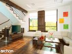 projekt Dom w mango 2 Strefa dzienna (wizualizacja 1 widok 1)