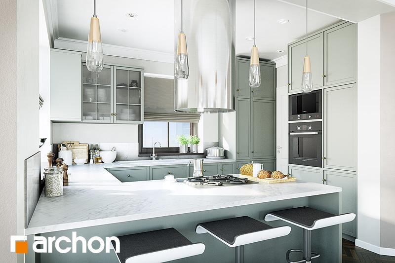 Projekt domu Dom w rukoli 2 - ARCHON+