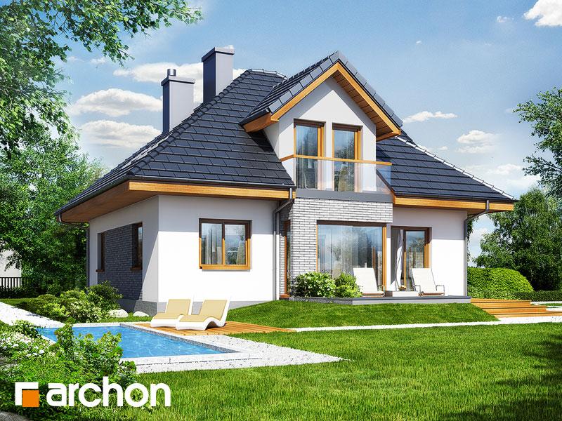 Projekt Domu Dom W Rukoli 2 Archon