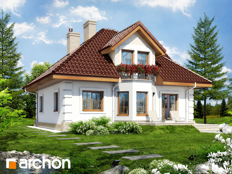 gotowy projekt Dom w rukoli 2 widok 1