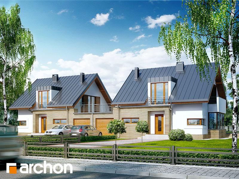 gotowy projekt Dom w kardamonie (R2) widok 1