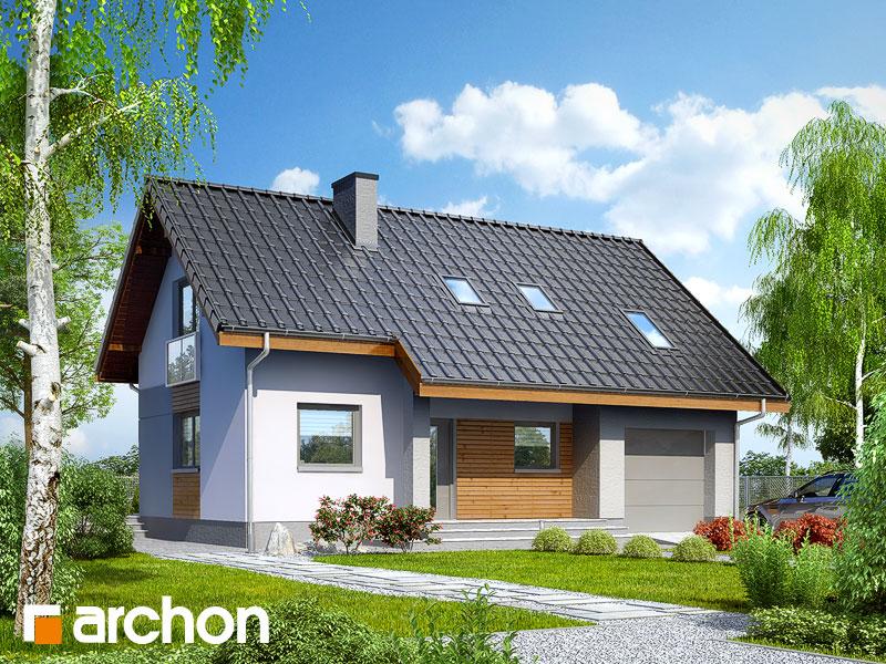 gotowy projekt Dom pod liczi 3 widok 1