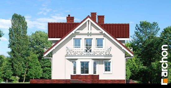 Elewacja boczna projekt dom w rododendronach 6 ver 3  266