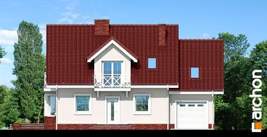 Elewacja frontowa projekt dom w rododendronach 6 ver 3  264