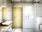 projekt Dom w rododendronach 6 Wizualizacja łazienki (wizualizacja 3 widok 5)