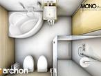projekt Dom w rododendronach 6 Wizualizacja łazienki (wizualizacja 3 widok 6)
