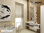 projekt Dom w pięknotkach Wizualizacja łazienki (wizualizacja 1 widok 2)