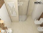 projekt Dom w pięknotkach Wizualizacja łazienki (wizualizacja 1 widok 5)