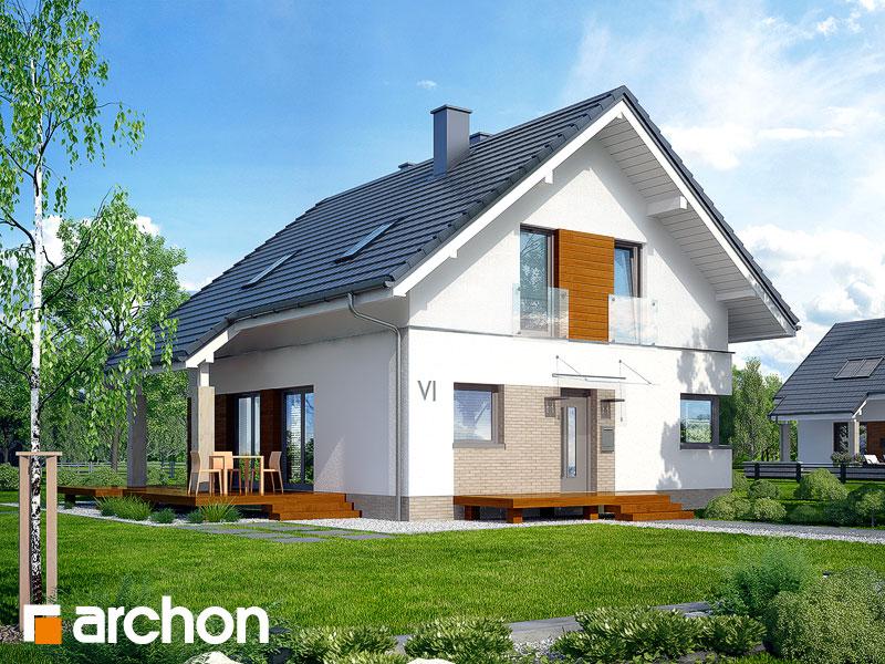 gotowy projekt Dom w avenach 2 widok 1