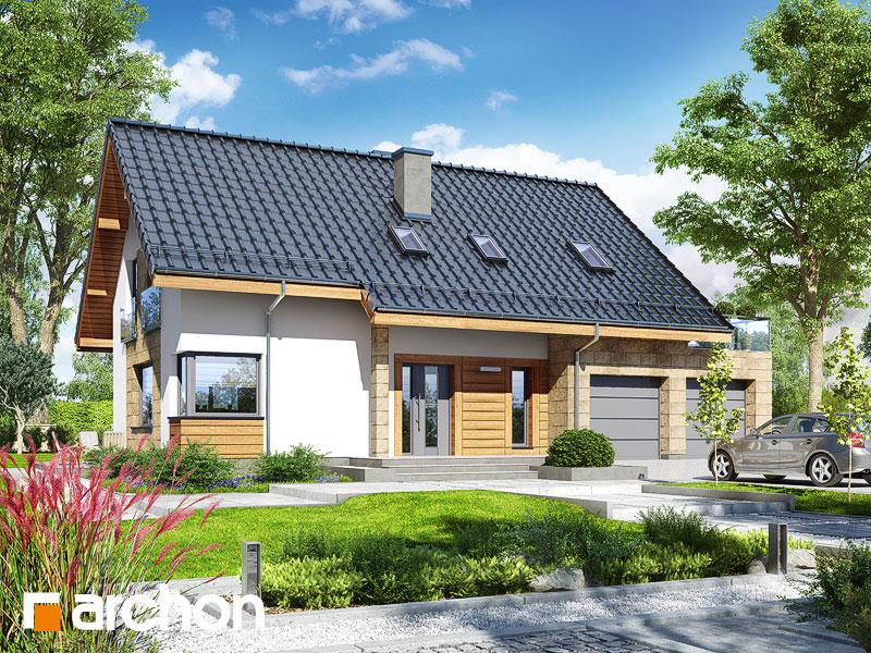 gotowy projekt Dom w złoci 3 (G2) widok 1