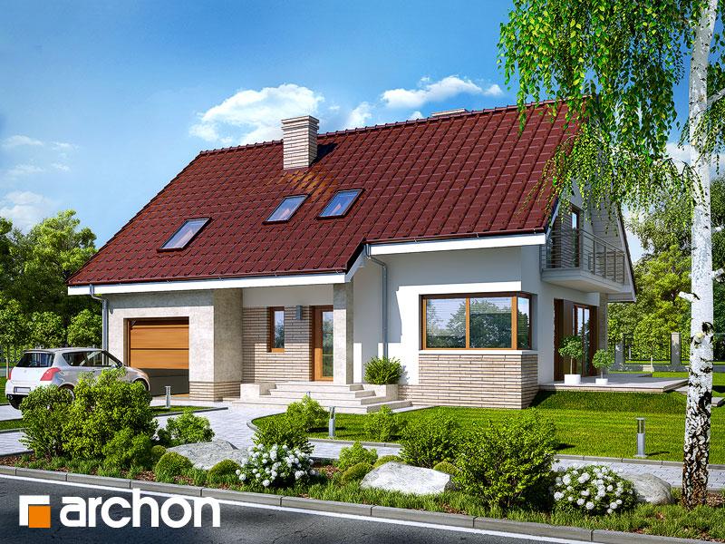 gotowy projekt Dom w idaredach (P) widok 1