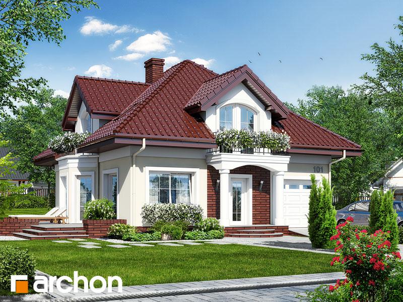 gotowy projekt Dom w tymianku 7 widok 1
