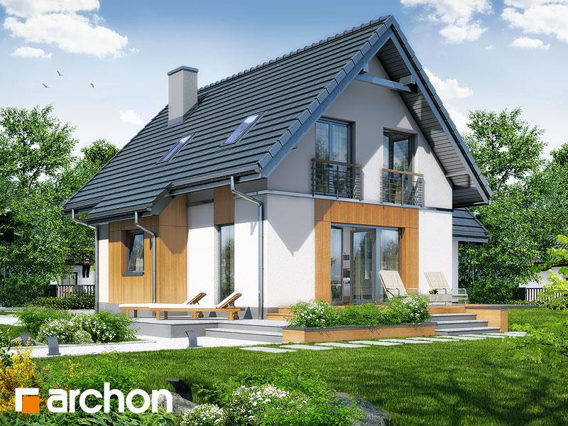 gotowy projekt Dom pod kasztanem 3 (N) widok 2