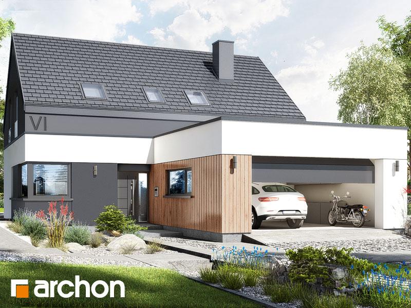 gotowy projekt Dom w ostnicach (G2E) widok 1