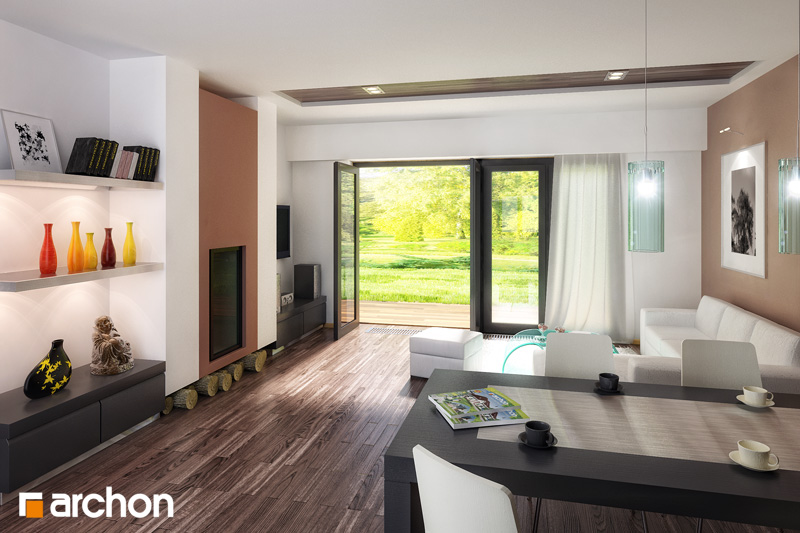 Projekt domu Dom w akebiach 4 Koszty budowy  ARCHON+ -> Kuchnia Elektryczna Koszty Eksploatacji