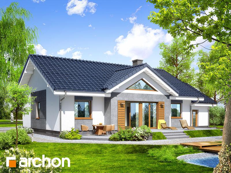 gotowy projekt Dom w akebiach 4 widok 1