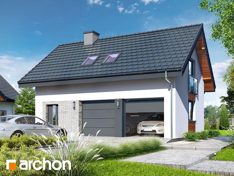 Projekt Garażu Garaż 2 Stanowiskowy G26 Archon