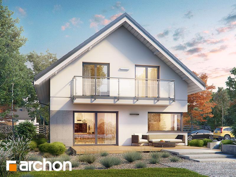 gotowy projekt Dom w miodokwiatach 4 (G2) widok 1
