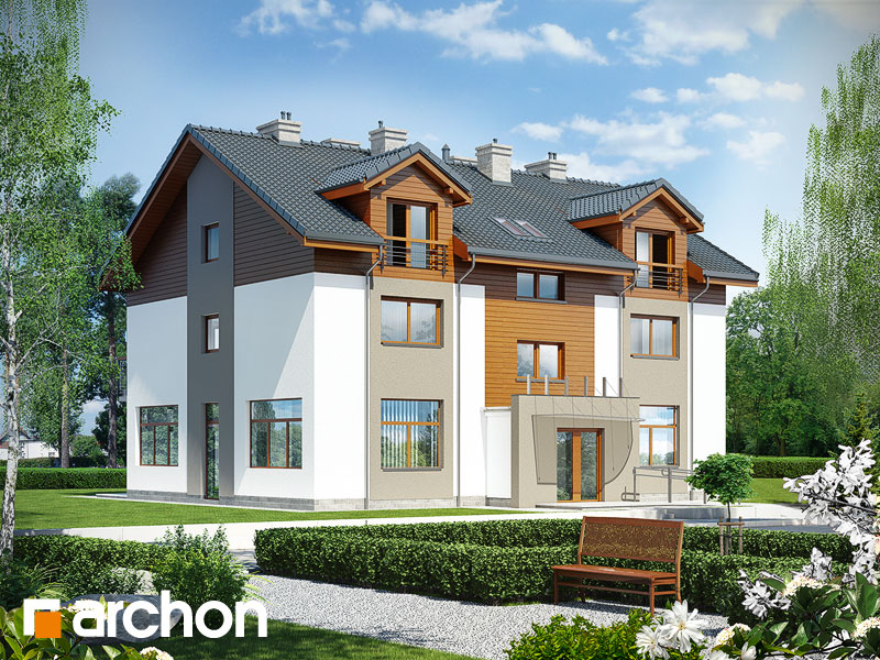 gotowy projekt Dom nad bulwarem 9 widok 2