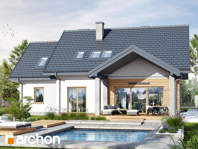 gotowy projekt Dom w szmaragdach 4 (G) widok 1