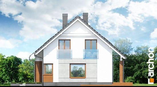 Elewacja boczna projekt dom w jablonkach  265