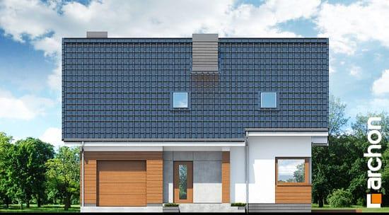 Elewacja frontowa projekt dom w jablonkach  264
