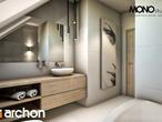 projekt Dom w jabłonkach Wizualizacja łazienki (wizualizacja 1 widok 1)