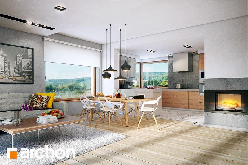 Projekt domu Dom w jabłonkach Koszty budowy  ARCHON+ -> Kuchnia Elektryczna Koszty Eksploatacji