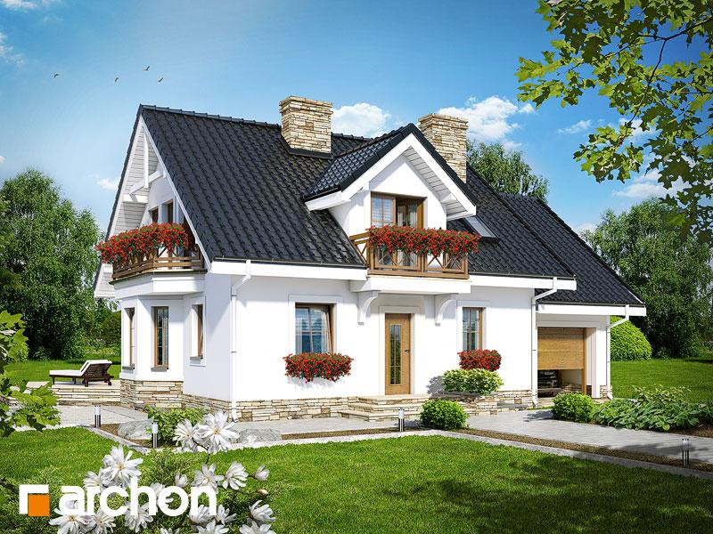 gotowy projekt Dom w rododendronach 6 (PT) widok 1