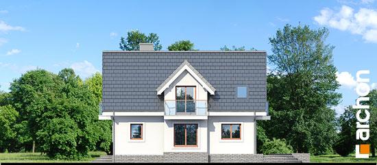 Elewacja boczna projekt dom w antonowkach r2  265