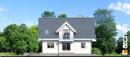 Elewacja boczna projekt dom w antonowkach r2  266