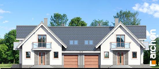 Elewacja frontowa projekt dom w antonowkach r2  264