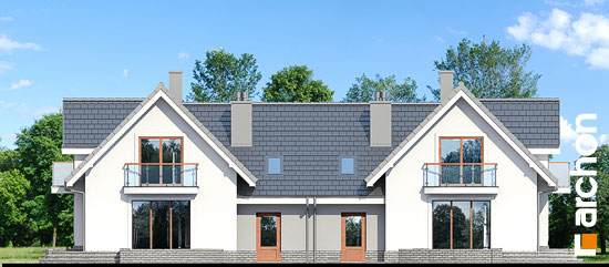 Elewacja ogrodowa projekt dom w antonowkach r2  267
