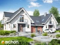 projekt Dom w antonówkach (R2) widok 1