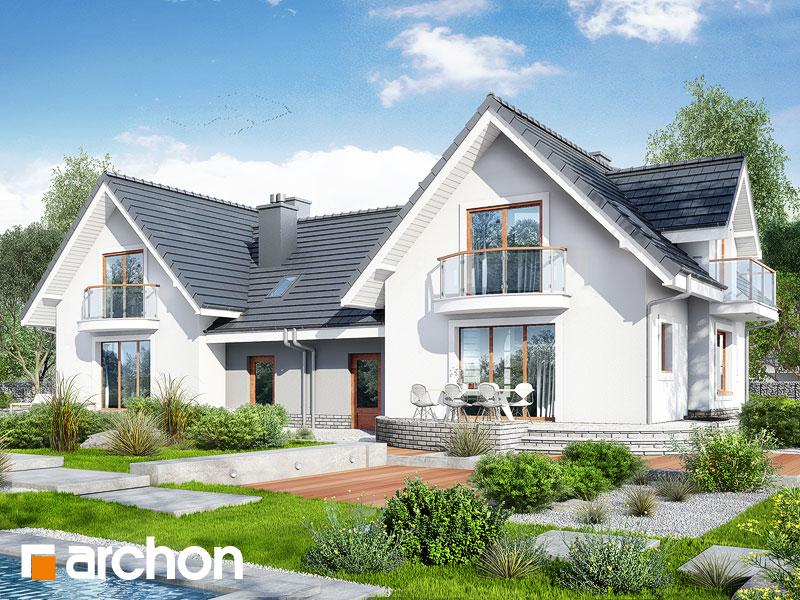 gotowy projekt Dom w antonówkach (R2) widok 1