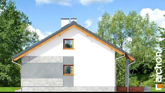 Elewacja boczna projekt dom pod lipka  265