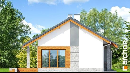 Elewacja boczna projekt dom pod lipka  266